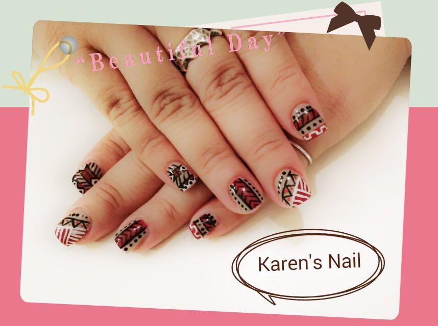 293 Karen's Nail,nail,finger,hand,nail care,manicure