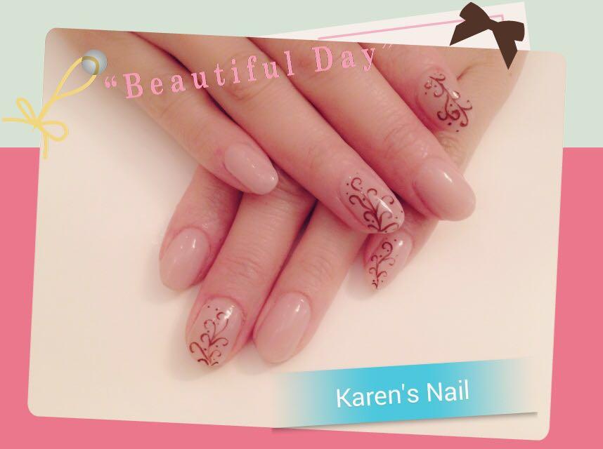 Beautiful Da Karen's Nail,nail,finger,pink,hand,manicure