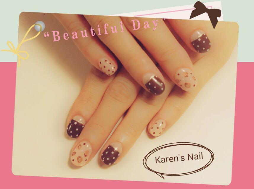 """""""Be autiful Da Karen's Nail,nail,finger,hand,nail care,manicure"""
