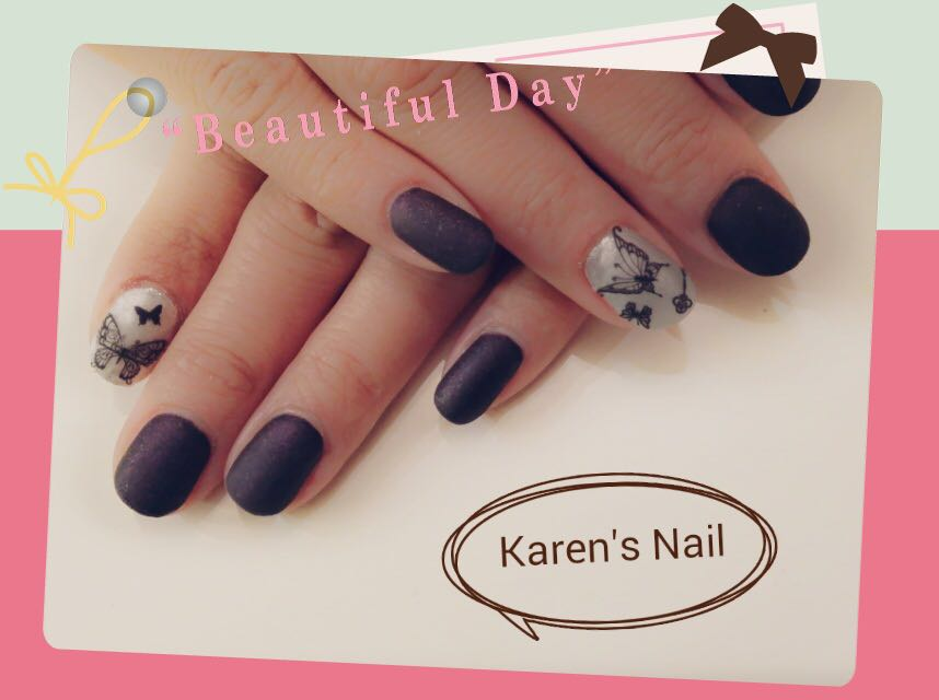 e a u Karen's Nail,nail,finger,hand,nail care,manicure