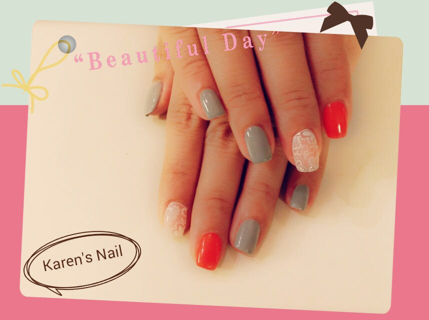Be au Karen's Nail,nail,finger,hand,manicure,nail care