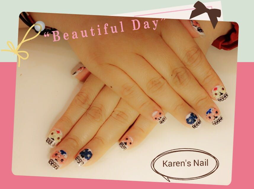 """Beautiful Day Karen's Nail,nail,finger,hand,nail care,manicure"