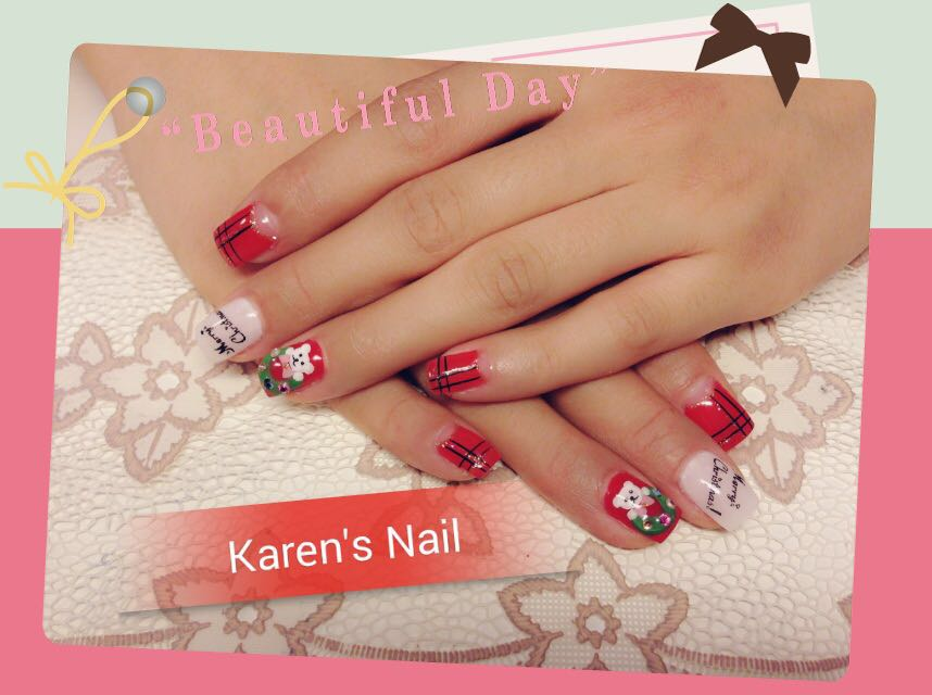 utiful D a 0 Karen's Nail,nail,finger,nail care,hand,manicure