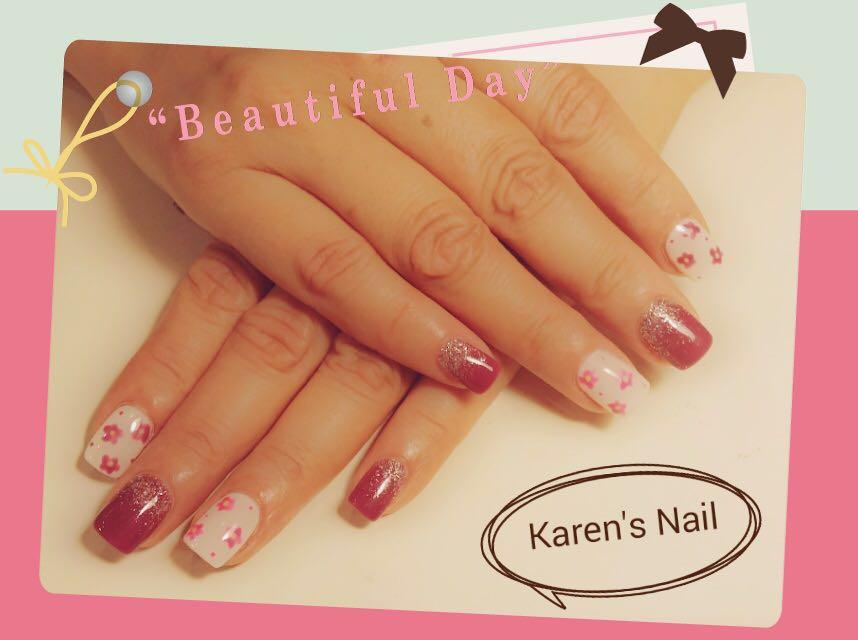 """""""Beautiful Da Karen's Nail,nail,finger,hand,nail care,manicure"""