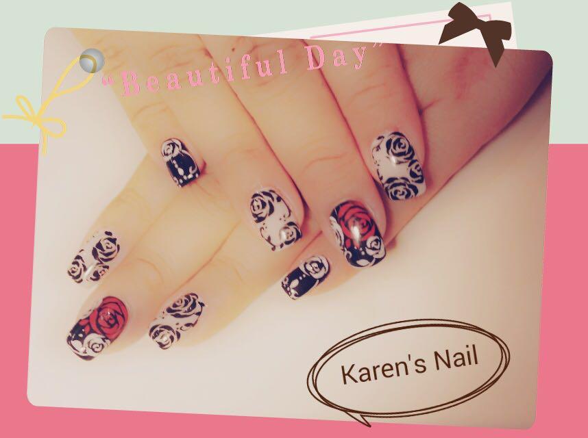 a. Karen's Nail,nail,finger,hand,nail care,manicure