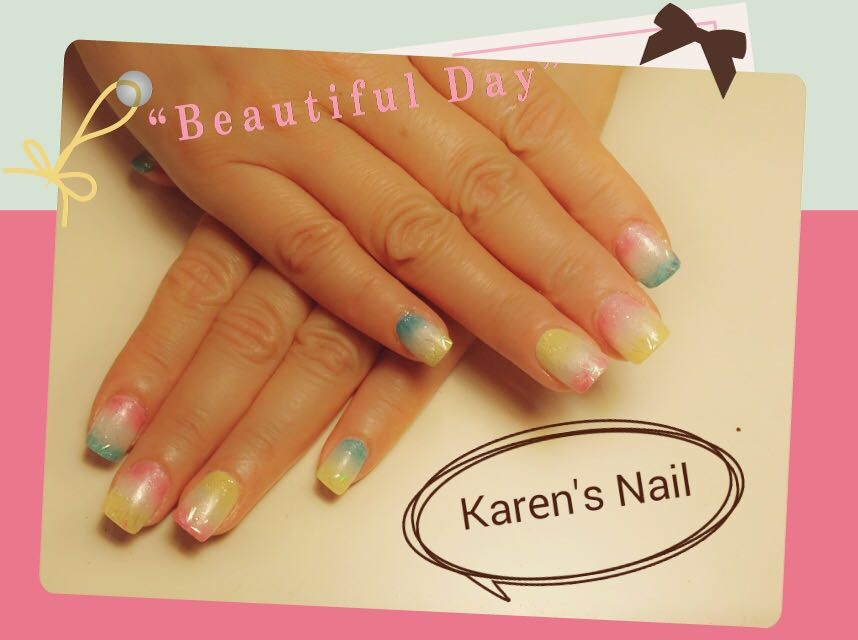 Beautiful Day Karen's Nail,nail,finger,hand,nail care,manicure