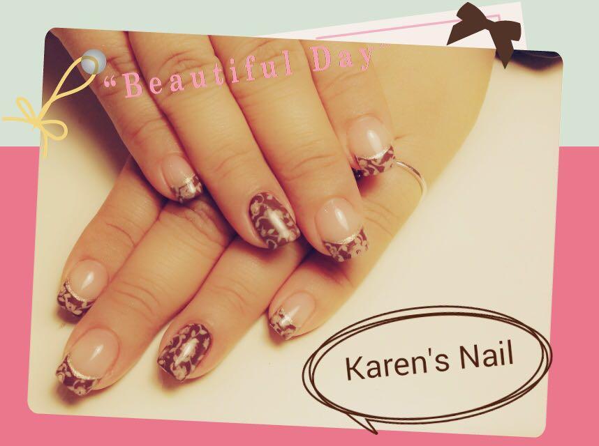 e a u tiful D Karen's Nail,nail,finger,manicure,hand,nail care