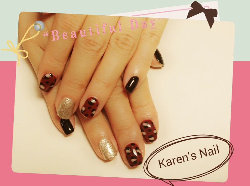 """Beautilul Karen's Nail,nail,finger,hand,manicure,nail care"