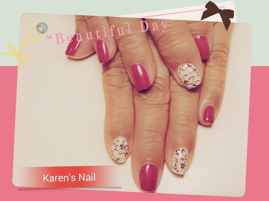 utiful Karen's Nail,nail,finger,hand,manicure,nail care