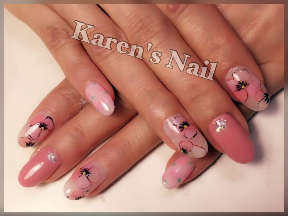 nail,finger,pink,nail care,hand