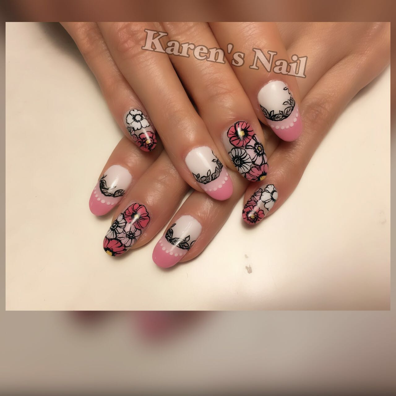 Karen's Nai,nail,finger,nail care,hand,manicure