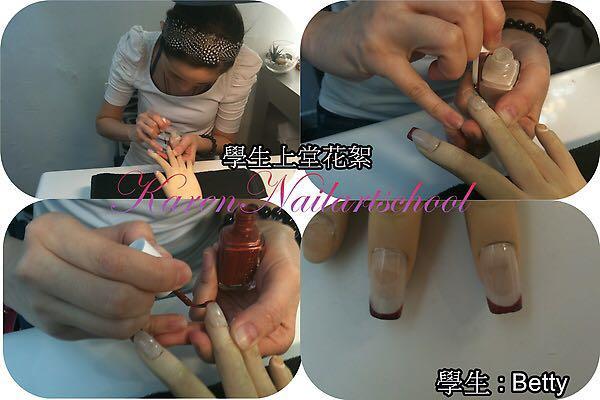 學4 Betty,finger,nail,hand,