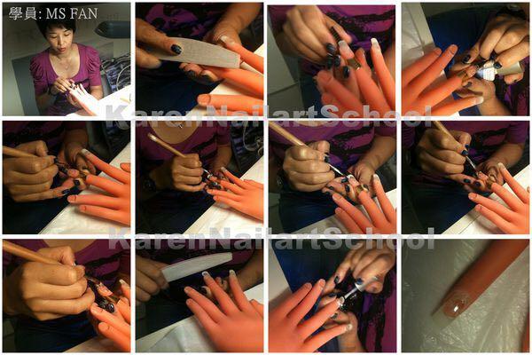 學員:MS FAN,finger,hand,nail,leg,arm