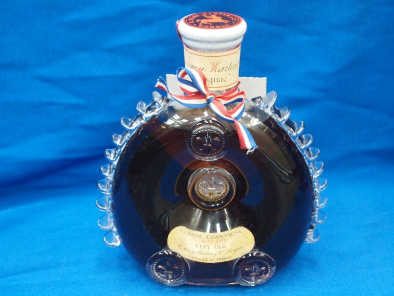nac ,C VERY OLD,glass bottle,bottle,cobalt blue,liqueur,distilled beverage