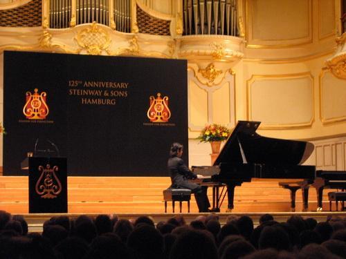 """25"""" ANNIVERSARY TEINWAY&SON HAMBURG FE,piano,pianist,classical music,auditorium,keyboard"""