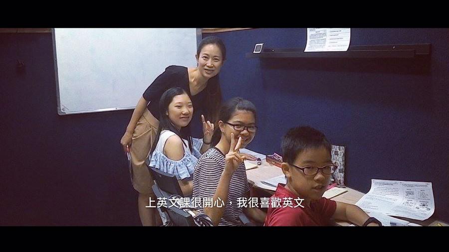 上英文課很開心,我很喜歡英文,girl,music,fun,