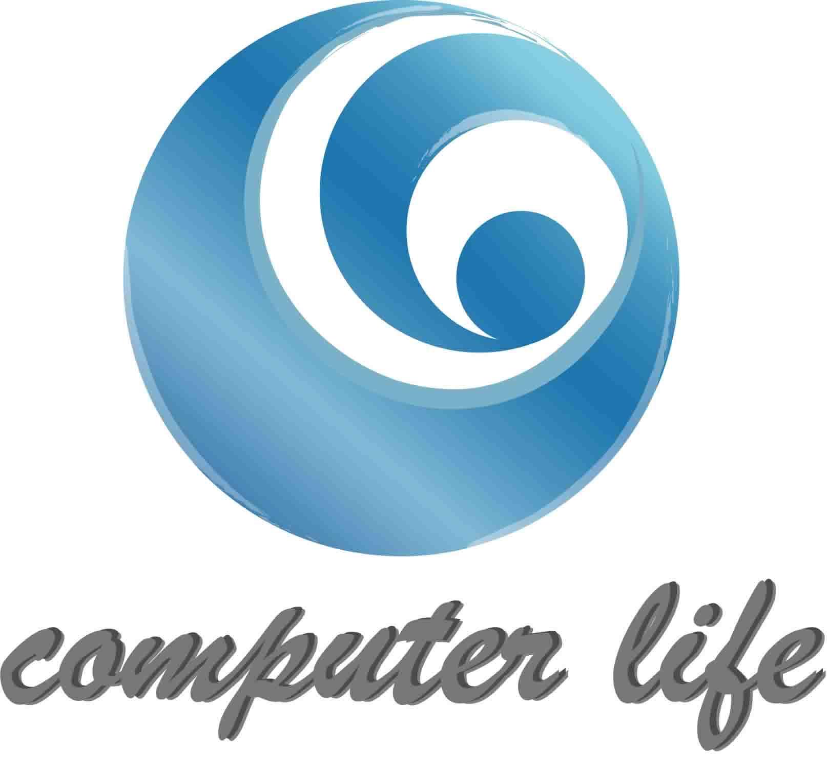 computer life,text,product,font,logo,circle