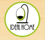 IDEAL HOME,Logo,Text,Font,Line,Brand