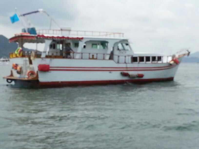 西貢遊船河,夜釣墨魚(直接船家)