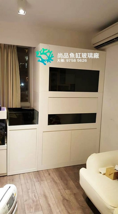 尚品魚缸玻璃廠 大根: 9758 5626,property,room,interior design,furniture,kitchen