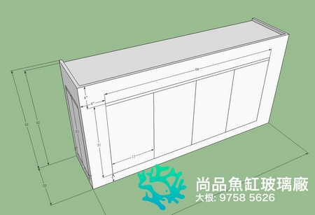 尚品魚缸玻璃廠 大根: 9758 5626,product,structure,shed,line,design