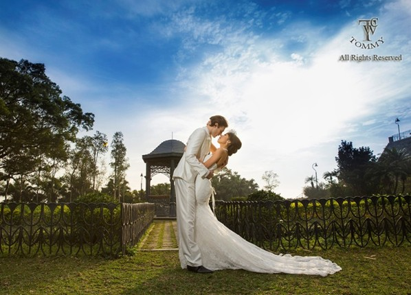 All Rights Reserved,photograph,woman,man,dress,sky
