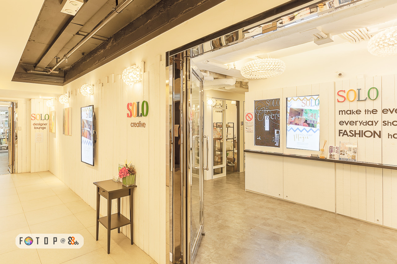 SOLO SOLC make the eV everyday ShC FASHION hc SOLO creative lounge,lobby,interior design,exhibition,real estate,