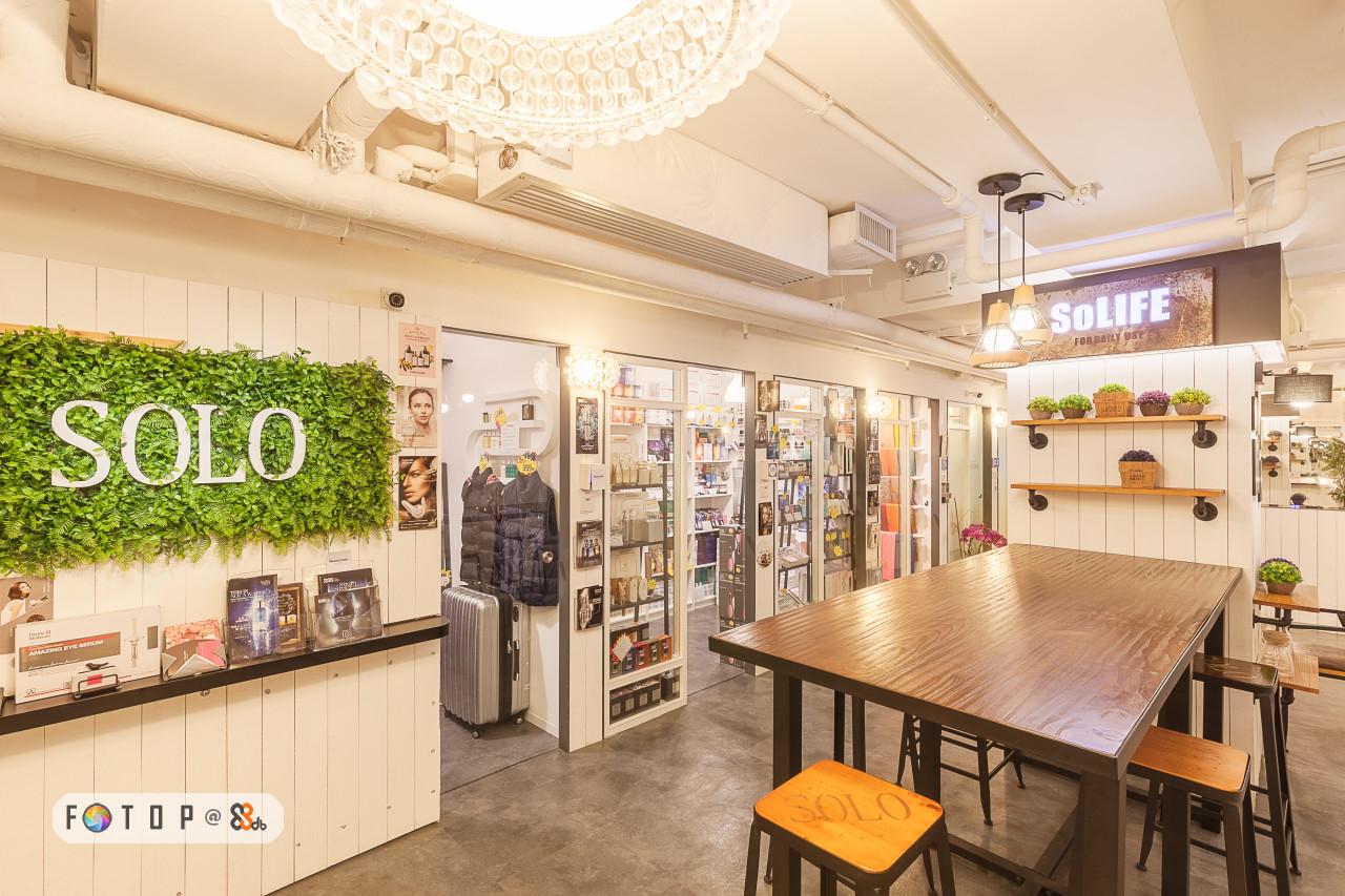 SOLIFE SOLO,interior design,retail,real estate,café,