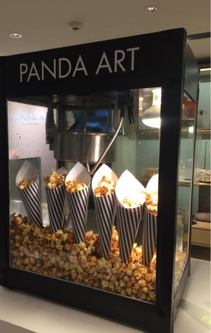 PANDA ART,display case,display window