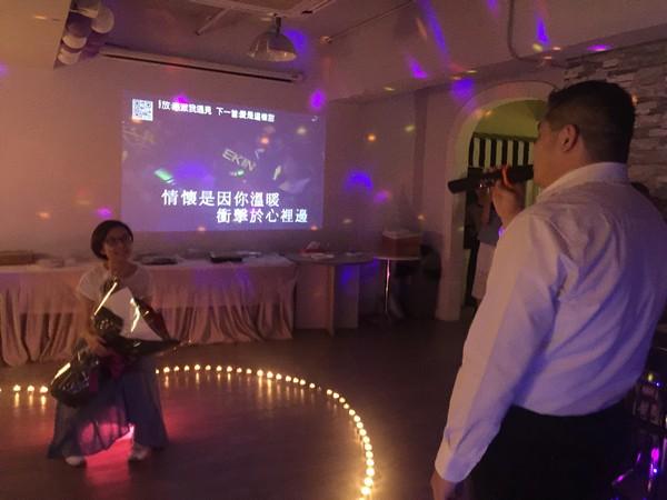 """圖放@nRan下-.RRE."""" 情懷是因你溫暖 衝擊於心裡邊 98,entertainment,function hall,event,light,ceremony"""