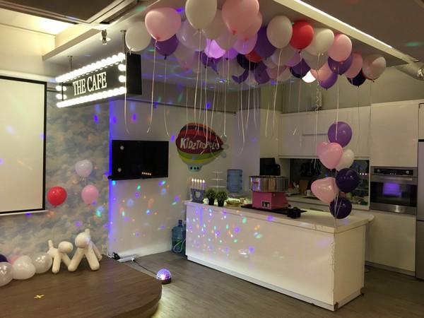 KiDz 4440,purple,function hall,interior design,balloon