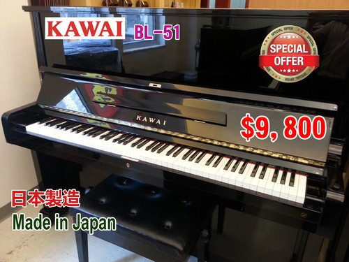 KAWAI BL-5 SPECIAL OFFER $9, 800 KAWA I 日本製造 Made in Japan,musical instrument,piano,technology,digital piano,keyboard