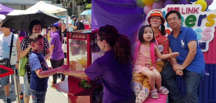 LINK sers,pink,public space,purple,festival,fun