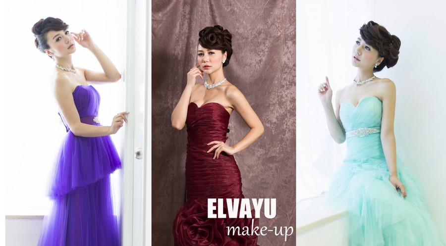 ELVAYU make-up,gown,dress,cocktail dress,formal wear,purple