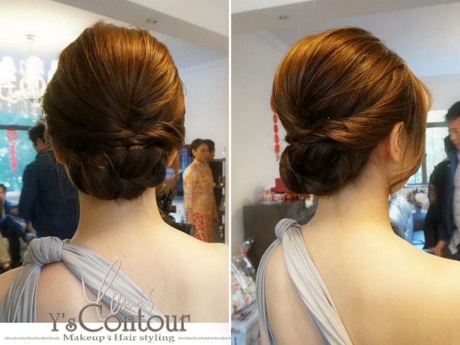 MakeupHair styling,hair,hairstyle,bun,chignon,chin