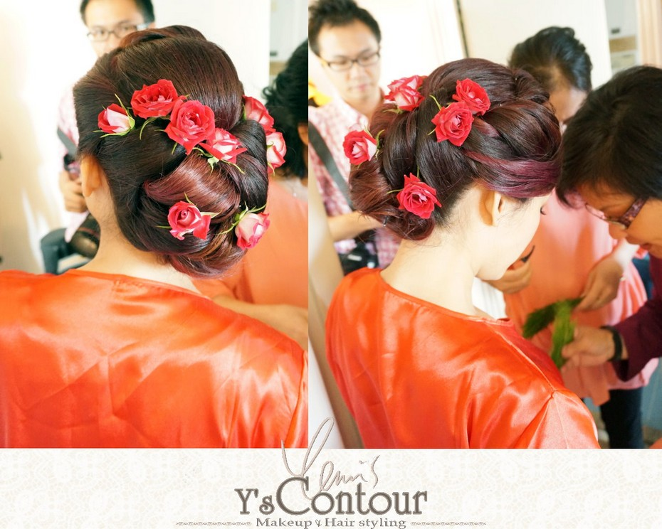 Y&Contour Makeup Hair styling,hairstyle,tradition,bride,ceremony,shimada