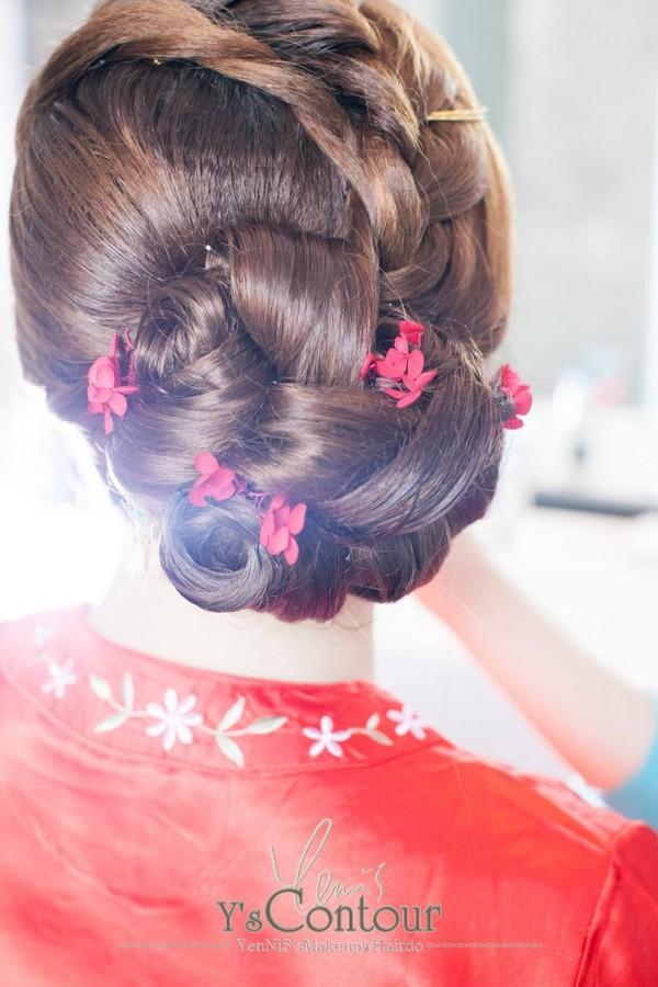 Y's Contour,hair,hairstyle,bun,girl,hair coloring