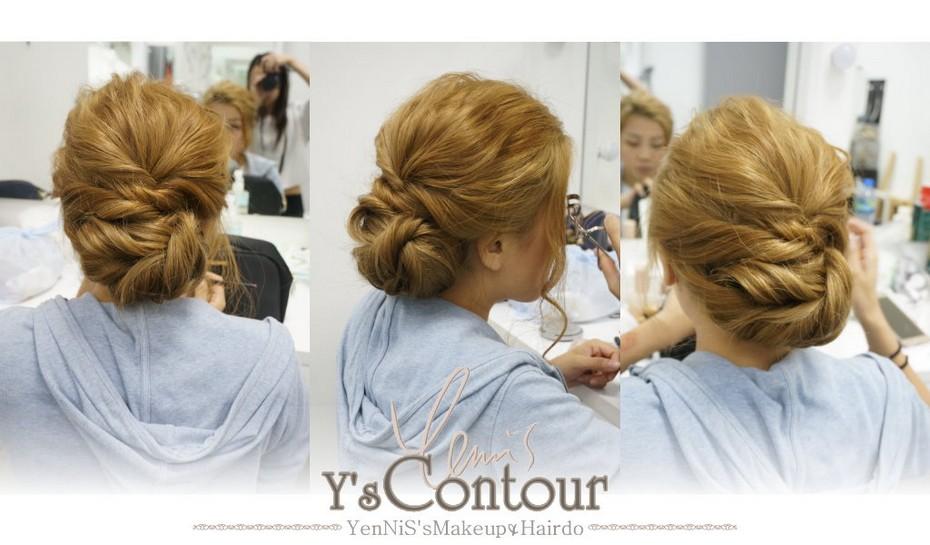 Ys Contour thestbeetbaYenNiS'sMakeup Hairdo,hair,hairstyle,bun,