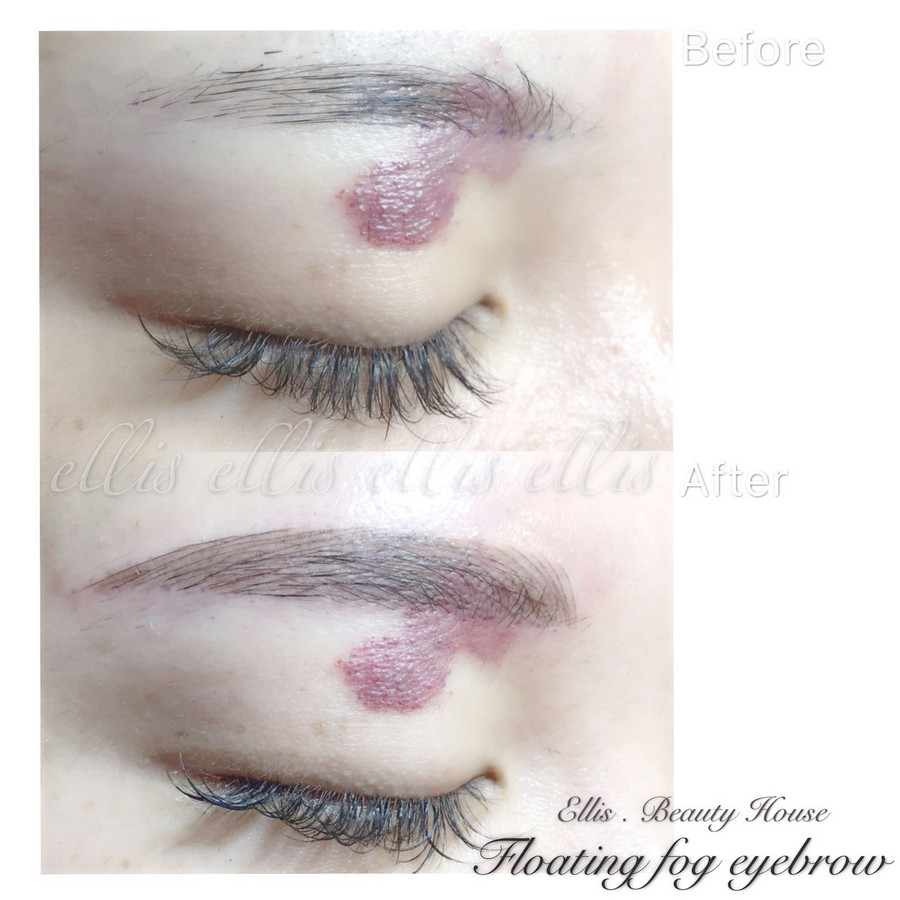 Before elLelo elLl After ells Beauty House,eyebrow,eyelash,lip,eye,cheek