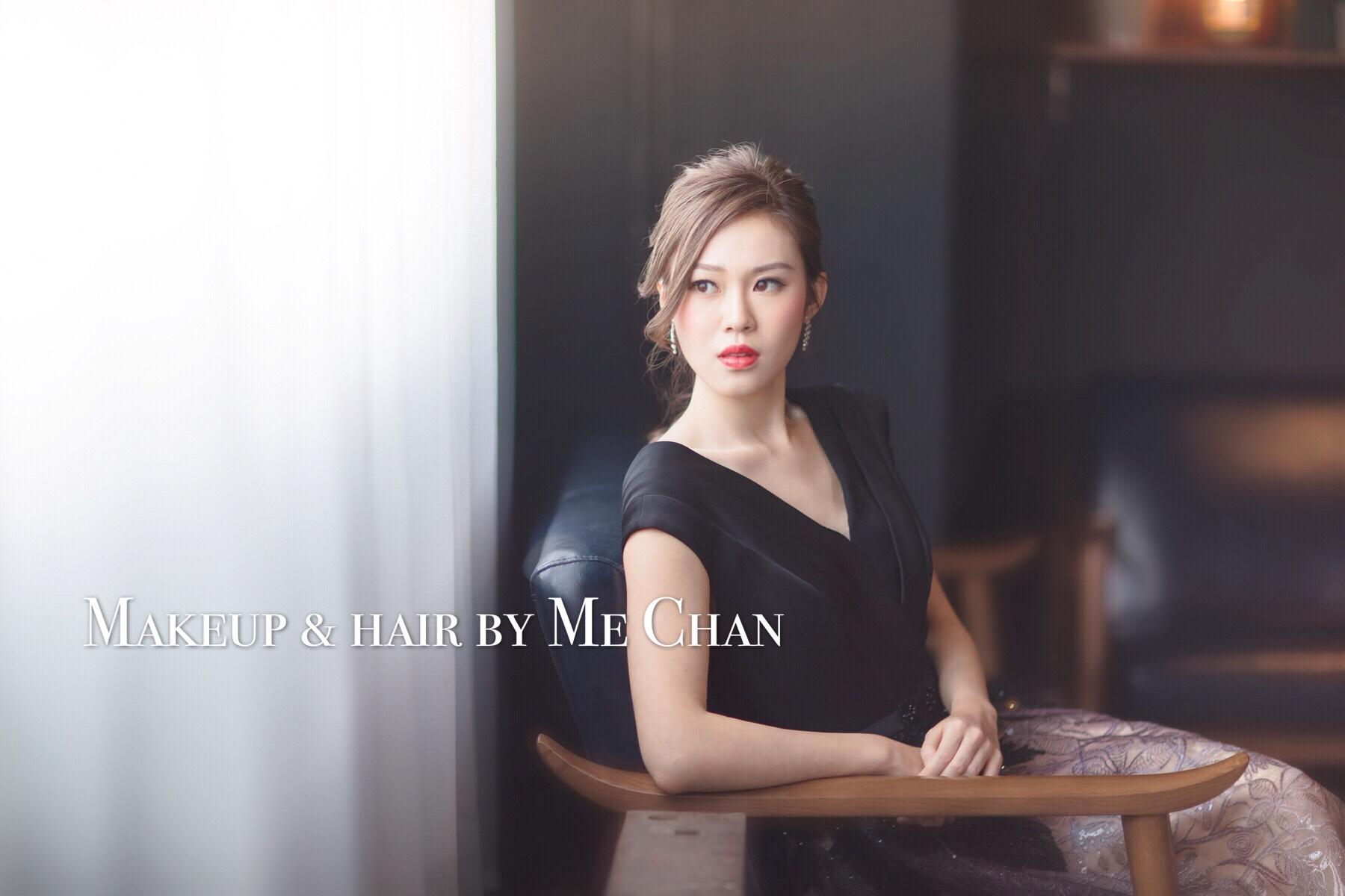 MAKB KEUP& HAIR BY MIE CHAN,photograph,beauty,lady,shoulder,girl