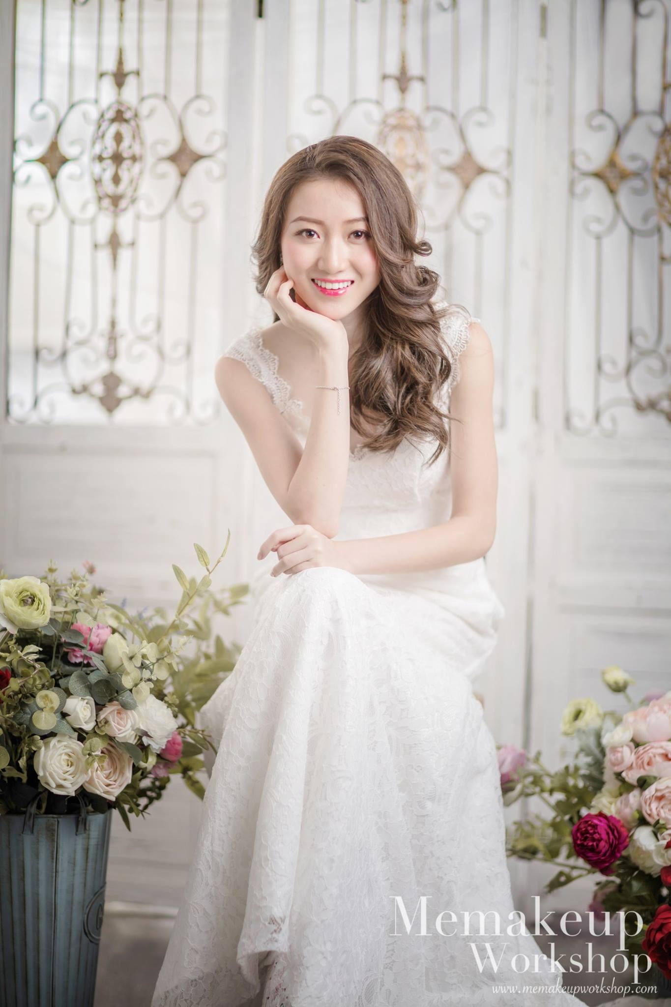 Workshop www.memakeupwoikshop.com,gown,wedding dress,bride,flower,bridal clothing