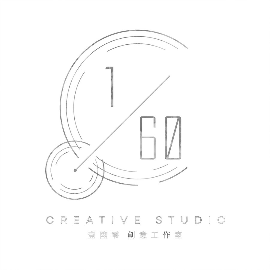 CREATIVESTUDIO 壹陸零 創意工作室,white,text,font,black and white,line art