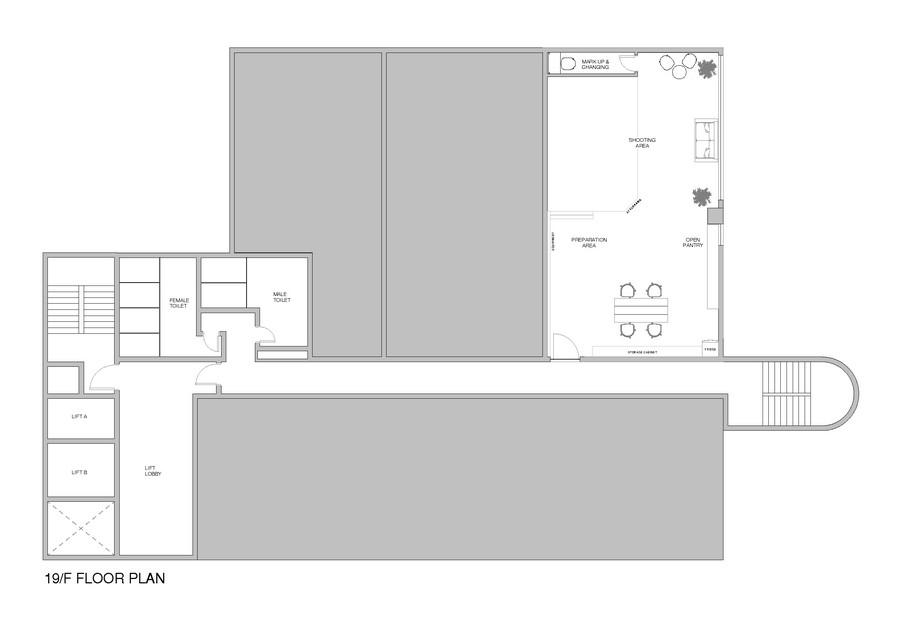 19/F FLOOR PLAN,floor plan,text,diagram,design,product