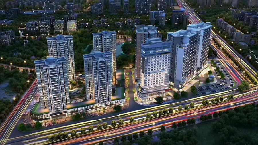 metropolitan area,urban area,bird's eye view,metropolis,cityscape