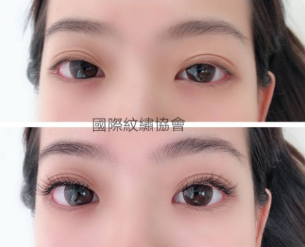 國際紋繡,eyebrow,eyelash,forehead,nose,eye shadow