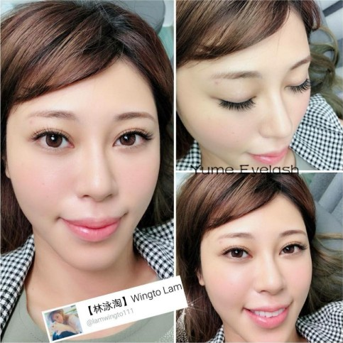 【林泳淘】 Wingto Lam,eyebrow,eyelash,nose,chin,cheek