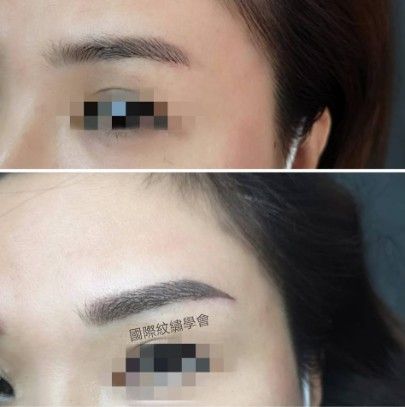 國際紋繡學會,eyebrow,nose,forehead,eyelash,eye shadow