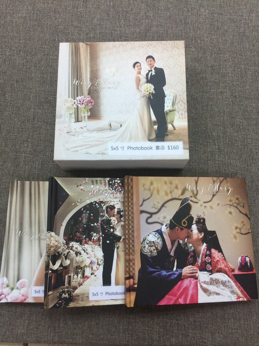5x5寸Photobook書函$160 5x5 x5寸Photoboo,photograph,picture frame,photograph album