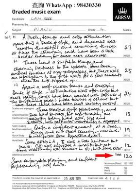 査詢WhatsApp : 98430330 Graded music exam ABRSM Presented by sebect ay mes variet 13 Tet 126,text,font,black and white,paper,line