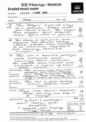 查詢whatsApp : 98430330 Graded music exam ABRSM Grade 3,text,music,font,black and white,line